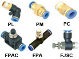 Pneumatic air connector
